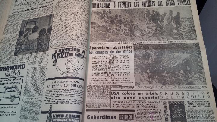 Herramientas de relojes: Ejemplares encuadernados del Diario IDEAL... 3-5-1956 al 16-11-1965 - Foto 16 - 43427820