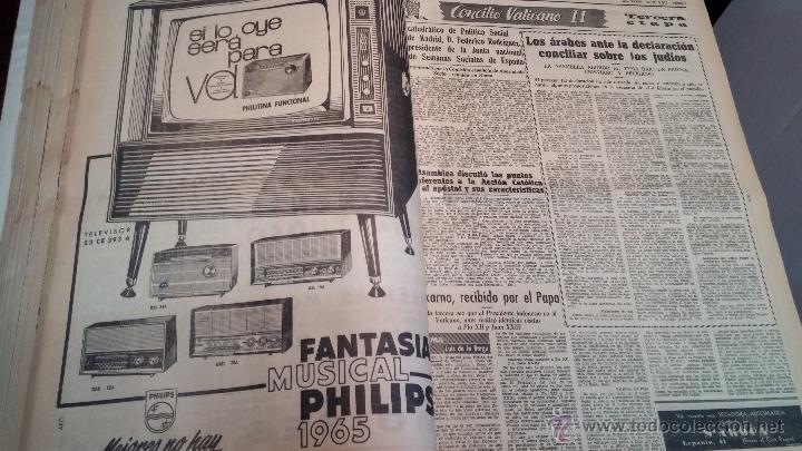 Herramientas de relojes: Ejemplares encuadernados del Diario IDEAL... 3-5-1956 al 16-11-1965 - Foto 17 - 43427820