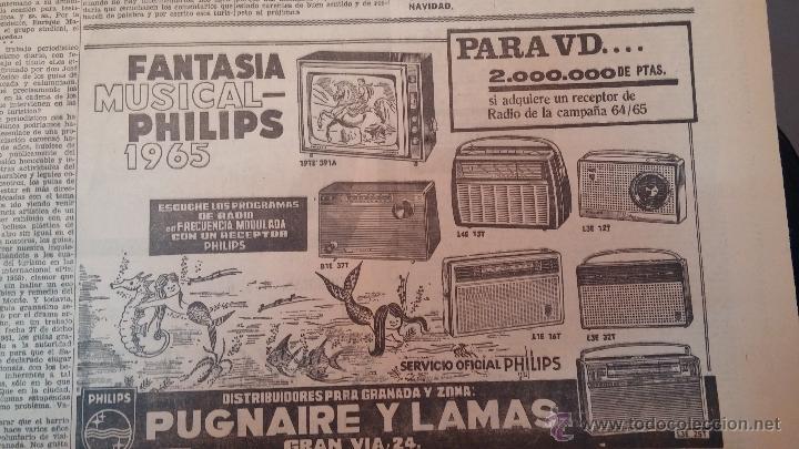 Herramientas de relojes: Ejemplares encuadernados del Diario IDEAL... 3-5-1956 al 16-11-1965 - Foto 19 - 43427820