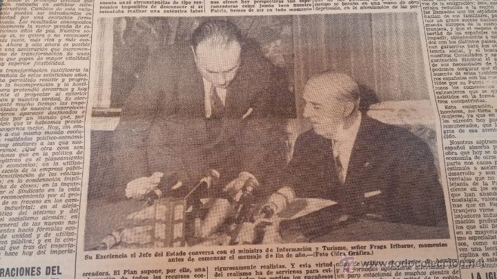 Herramientas de relojes: Ejemplares encuadernados del Diario IDEAL... 3-5-1956 al 16-11-1965 - Foto 21 - 43427820