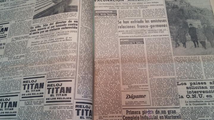 Herramientas de relojes: Ejemplares encuadernados del Diario IDEAL... 3-5-1956 al 16-11-1965 - Foto 23 - 43427820