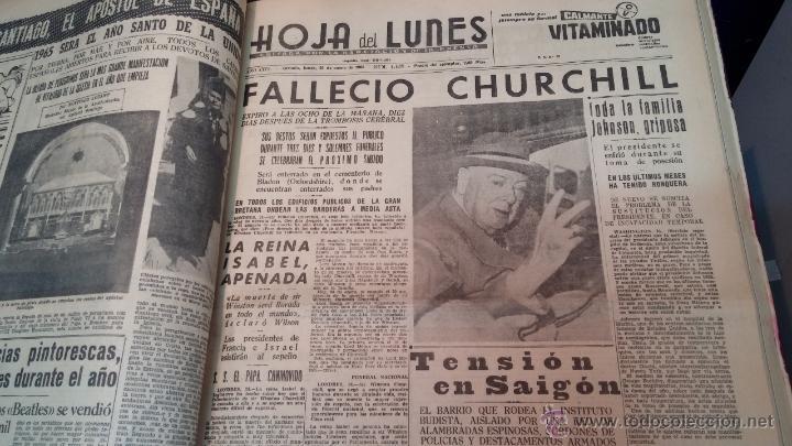 Herramientas de relojes: Ejemplares encuadernados del Diario IDEAL... 3-5-1956 al 16-11-1965 - Foto 24 - 43427820