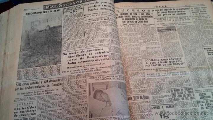Herramientas de relojes: Ejemplares encuadernados del Diario IDEAL... 3-5-1956 al 16-11-1965 - Foto 25 - 43427820