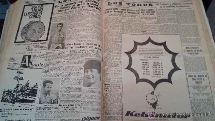 Herramientas de relojes: Ejemplares encuadernados del Diario IDEAL... 3-5-1956 al 16-11-1965 - Foto 27 - 43427820