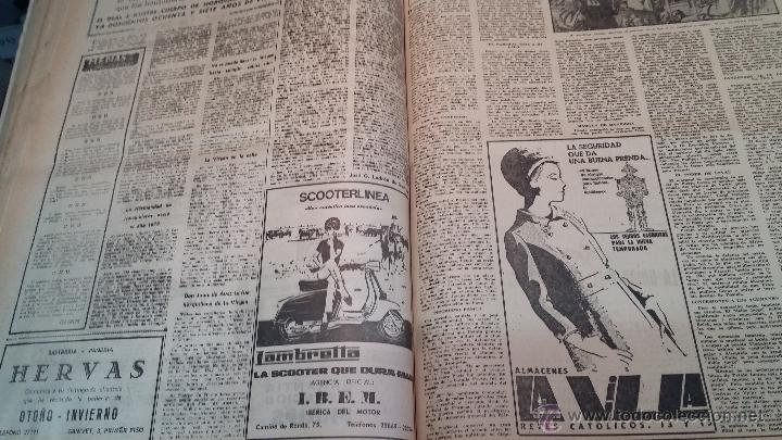Herramientas de relojes: Ejemplares encuadernados del Diario IDEAL... 3-5-1956 al 16-11-1965 - Foto 29 - 43427820