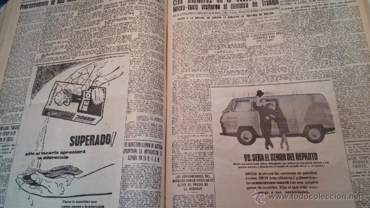 Herramientas de relojes: Ejemplares encuadernados del Diario IDEAL... 3-5-1956 al 16-11-1965 - Foto 31 - 43427820