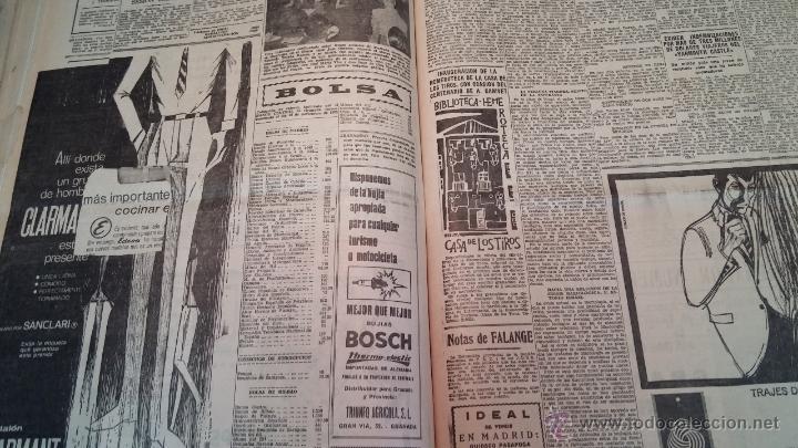 Herramientas de relojes: Ejemplares encuadernados del Diario IDEAL... 3-5-1956 al 16-11-1965 - Foto 32 - 43427820