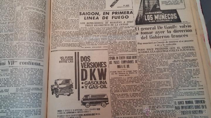 Herramientas de relojes: Ejemplares encuadernados del Diario IDEAL... 3-5-1956 al 16-11-1965 - Foto 33 - 43427820