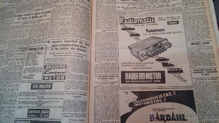 Herramientas de relojes: Ejemplares encuadernados del Diario IDEAL... 3-5-1956 al 16-11-1965 - Foto 38 - 43427820