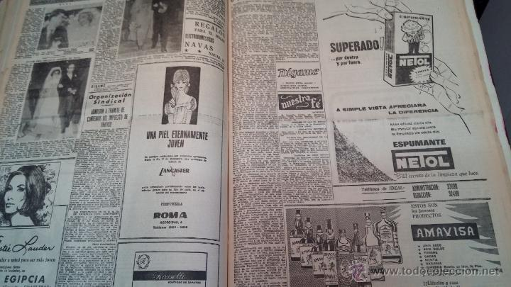 Herramientas de relojes: Ejemplares encuadernados del Diario IDEAL... 3-5-1956 al 16-11-1965 - Foto 39 - 43427820