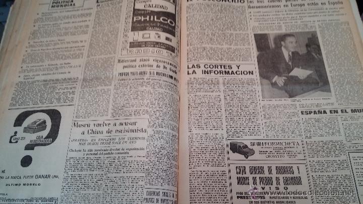 Herramientas de relojes: Ejemplares encuadernados del Diario IDEAL... 3-5-1956 al 16-11-1965 - Foto 40 - 43427820