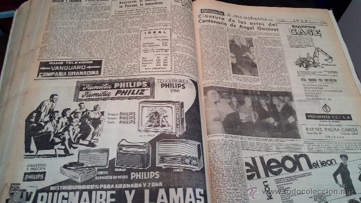 Herramientas de relojes: Ejemplares encuadernados del Diario IDEAL... 3-5-1956 al 16-11-1965 - Foto 41 - 43427820