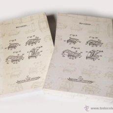 Herramientas de relojes: MANUAL DEL RELOJ JAEGER LECOULTRE REVERSO - 1998. Lote 45331366