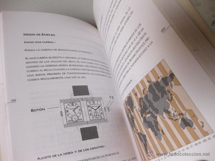 Herramientas de relojes: MANUAL DEL RELOJ JAEGER LECOULTRE REVERSO - 1998 - Foto 4 - 45331366