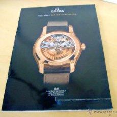 Herramientas de relojes: CATÁLOGO OMEGA HOUR VISION. Lote 45479320