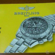 Herramientas de relojes: INSTRUCCIONES DE FUNCIONAMIENTO RELOJ BREITLING B-2. Lote 48317712