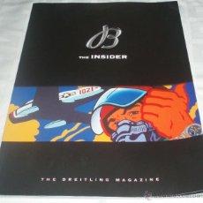 Herramientas de relojes: REVISTA THE INSIDER MAGAZINE BREITLING EN ESPAÑOL. Lote 48663023