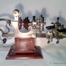 Herramientas de relojes: ANTIGUO TORNO DE RELOJERÍA DE MUSEO.. Lote 49150246