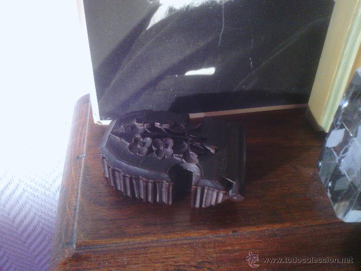 Herramientas de relojes: Caja en madera Selva Negra - Alemania - antigua! - para reloj de bolsillo - Foto 4 - 49706450