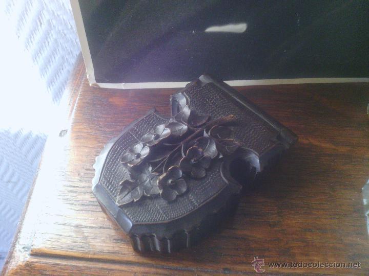 Herramientas de relojes: Caja en madera Selva Negra - Alemania - antigua! - para reloj de bolsillo - Foto 12 - 49706450