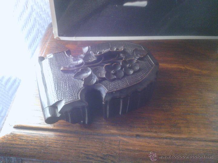 Herramientas de relojes: Caja en madera Selva Negra - Alemania - antigua! - para reloj de bolsillo - Foto 13 - 49706450