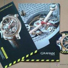 Herramientas de relojes: DOSSIER DE PRENSA RELOJES GRAHAM TRIGGER TOURBILLOGRAPH. Lote 51012820