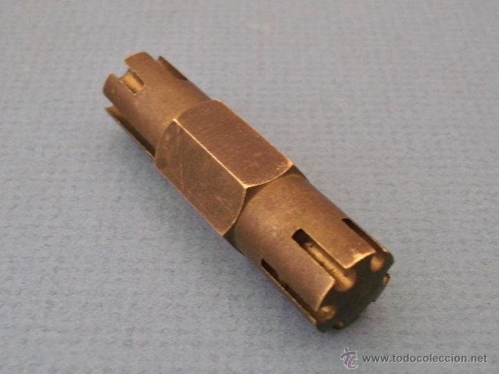 Herramientas de relojes: herramienta de relojero: util para limar terminales de pulseras de metal.- bergeon nº 2277 - Foto 2 - 51129086