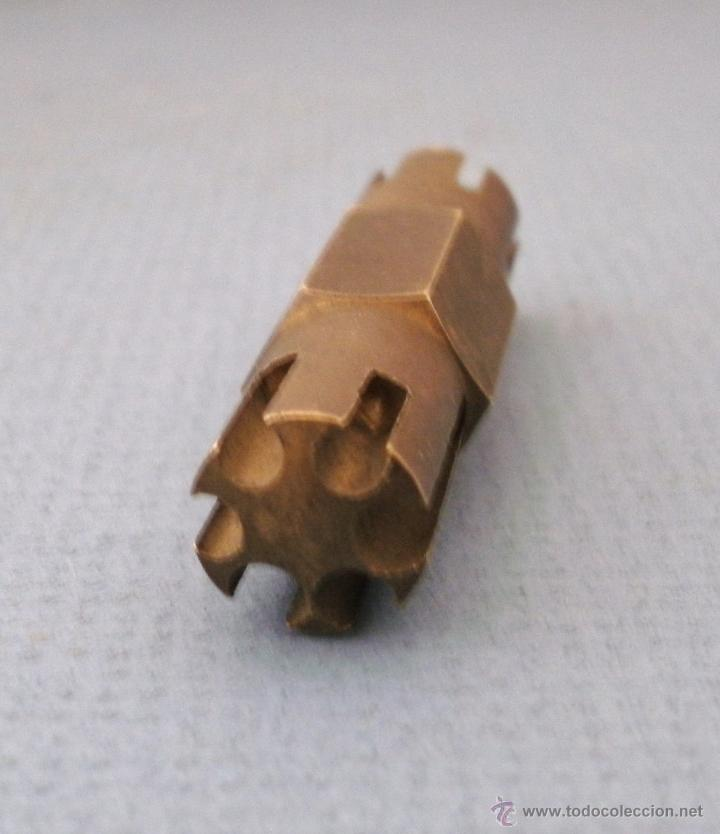 Herramientas de relojes: herramienta de relojero: util para limar terminales de pulseras de metal.- bergeon nº 2277 - Foto 5 - 51129086