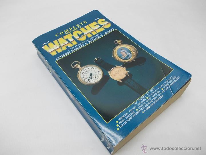 Herramientas de relojes: EXTRAORDINARIA GUIA DE PRECIOS DE RELOJ DE BOLSILLO Y PULSERA - Foto 2 - 51356037