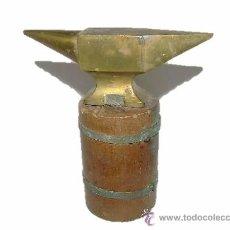 Herramientas de relojes: ANTIGUO TAS DE BROCE DE JOYERO O RELOJERO. Lote 26312187