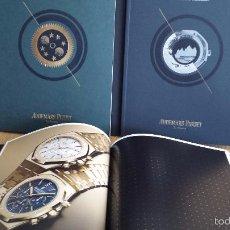 Herramientas de relojes: RELOJES / 3 CATÁLOGOS DE LA PRESTIGIOSA MARCA AUDEMARS PIGUET. COMPLETAMENTE NUEVOS / DIFÍCIL. Lote 55310241