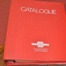 Herramientas de relojes: CATALOGO ETA EBAUCHES SERVICIO DE FORNITURAS PUESTAS AL DIA ESPECIFICACIONES TÉCNICAS RELOJES CR1. Lote 57368061