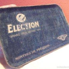 Outils d'horloger: BANDEJA ELECTION GRAND PRIX BERNE 1914 MONTRES DE PRECISION ..PRESENTACION DE RELOJES AÑOS 30-40 . Lote 57474539