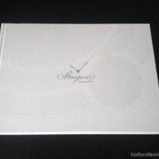 Herramientas de relojes: BREGUET CATALOGO 2014 - RELOJ RELOJES CRONOGRAFO PULSERA ORO PLATA. Lote 58231574
