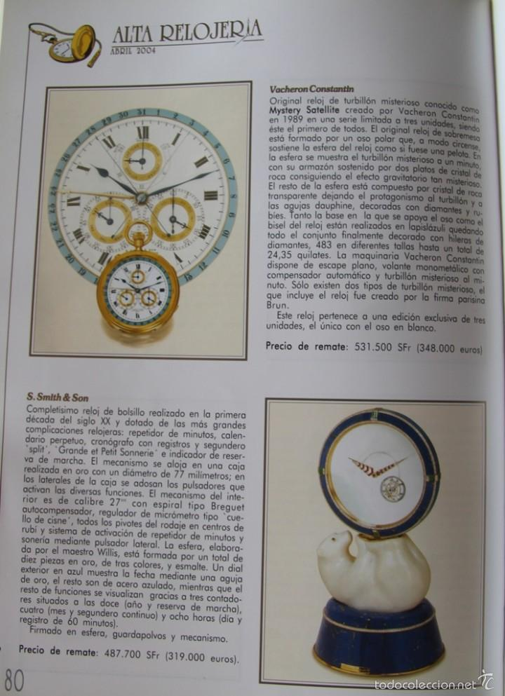 Herramientas de relojes: ALTA RELOJERIA LA REVISTA DE LA ALTA GAMA DE LA RELOJERIA ILUSTRACIONES Y DESCRIPCIONES 114 PAGINAS - Foto 2 - 59637835