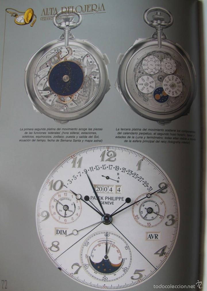 Herramientas de relojes: ALTA RELOJERIA LA REVISTA DE LA ALTA GAMA DE LA RELOJERIA ILUSTRACIONES Y DESCRIPCIONES 114 PAGINAS - Foto 3 - 59637835