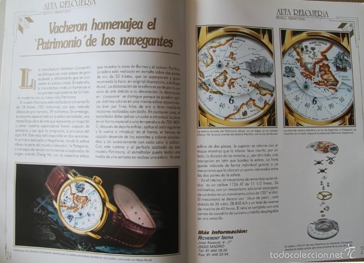 Herramientas de relojes: ALTA RELOJERIA LA REVISTA DE LA ALTA GAMA DE LA RELOJERIA ILUSTRACIONES Y DESCRIPCIONES 114 PAGINAS - Foto 6 - 59637835