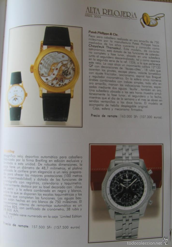 Herramientas de relojes: ALTA RELOJERIA LA REVISTA DE LA ALTA GAMA DE LA RELOJERIA ILUSTRACIONES Y DESCRIPCIONES 114 PAGINAS - Foto 8 - 59637835