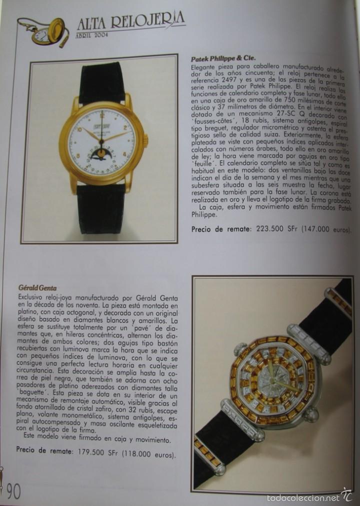 Herramientas de relojes: ALTA RELOJERIA LA REVISTA DE LA ALTA GAMA DE LA RELOJERIA ILUSTRACIONES Y DESCRIPCIONES 114 PAGINAS - Foto 9 - 59637835