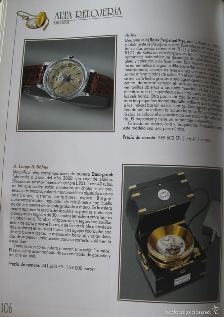 Herramientas de relojes: ALTA RELOJERIA LA REVISTA DE LA ALTA GAMA DE LA RELOJERIA ILUSTRACIONES Y DESCRIPCIONES 114 PAGINAS - Foto 10 - 59637835