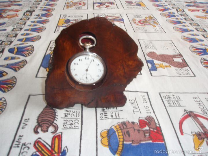 Herramientas de relojes: RELOJERA PARA RELOJ DE BOLSILLO DE MADERA tronco - Foto 4 - 59891351