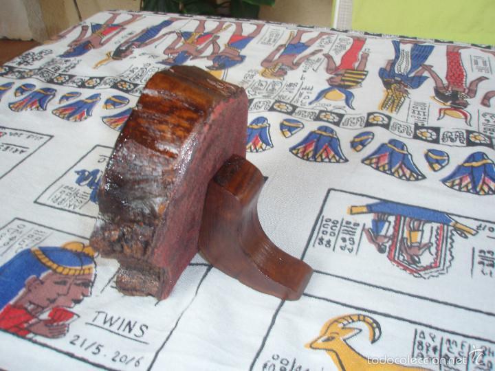 Herramientas de relojes: RELOJERA PARA RELOJ DE BOLSILLO DE MADERA tronco - Foto 6 - 59891351