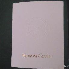 Herramientas de relojes: CATÁLOGO DE RELOJES PASHA DE CARTIER 1995. Lote 60707811