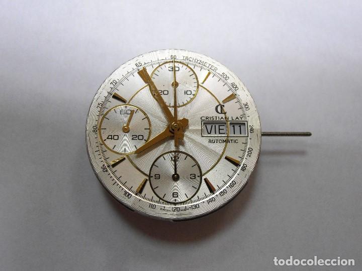 MECANISMO ETA 7750 VALJOUX SUIZA, Con Esfera de Cristian Lay - BUEN ESTADO segunda mano