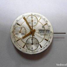 Herramientas de relojes: MECANISMO ETA 7750 VALJOUX SUIZA, CON ESFERA DE CRISTIAN LAY - BUEN ESTADO. Lote 62248424