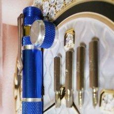 Herramientas de relojes: DESTORNILLADOR BOLÍGRAFO MINI DE PRECISIÓN CON CLIP DE SUJECCIÓN - KIT HERRAMIENTAS EN SU INTERIOR. Lote 66753010