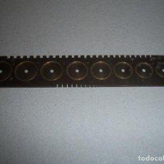 Herramientas de relojes: CALIBRADOR DE RELOJERIA DE LATON . Lote 68313201