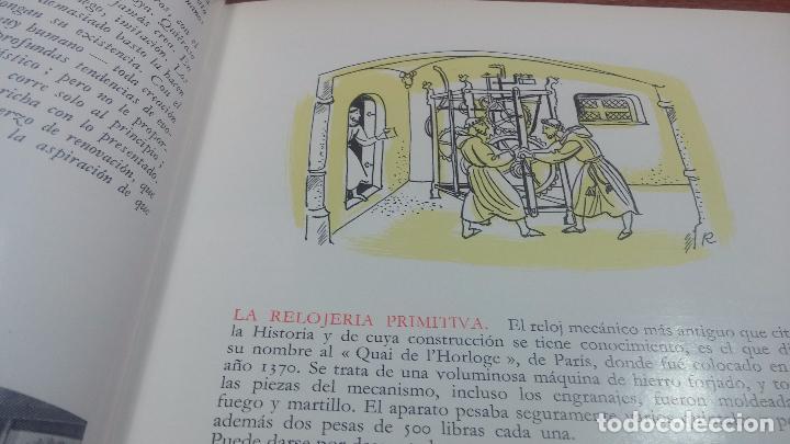 Herramientas de relojes: Dos pedazos de libros históricos para los amantes y aficionados al reloj, y al arte de reparlos - Foto 6 - 73722571