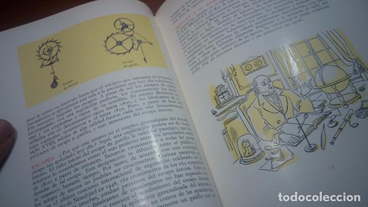 Herramientas de relojes: Dos pedazos de libros históricos para los amantes y aficionados al reloj, y al arte de reparlos - Foto 9 - 73722571