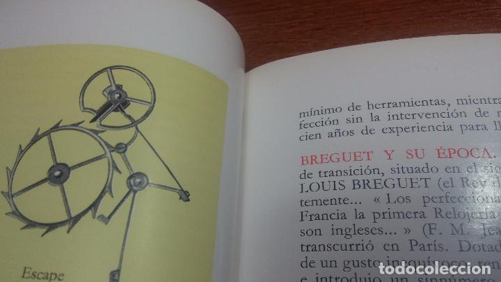 Herramientas de relojes: Dos pedazos de libros históricos para los amantes y aficionados al reloj, y al arte de reparlos - Foto 10 - 73722571